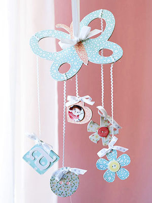 CREATE A BABY HOME DECOR ACCENT FROM CHIPBOARD