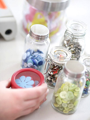 Stick to basic scrapbooking storage solutions