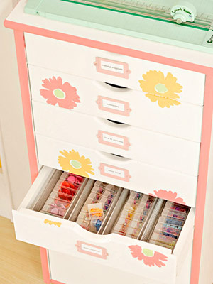 ORGANIZE DRAWERS USING SMALL CONTAINERS