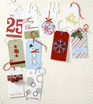 Holiday Gift Tags: Decorate Gifts Tags with Basic Supplies