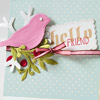 ADD DETAIL TO PAPER PIECINGS WITH EMBOSSING TOOLS