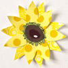 SUNFLOWER PAPER-PIECING PATTERN