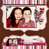 PLAY WITH DECORATIVE-EDGE PAPER FOR AN ARTISTIC VALENTINE?S DAY SCRAPBOOK PAGE