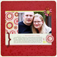 GET CREATIVE WITH EVERYDAY EMBELLISHMENTS ON YOUR VALENTINE?S DAY SCRAPBOOK PAGES
