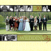 FRAME A PANORAMIC PHOTO WITH FILMSTRIP BORDERS