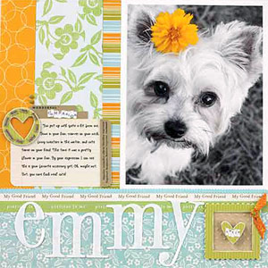 Dog Scrapbooking Ideas