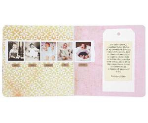 ARRANGE FAMILY PHOTOS ON A FILMSTRIP