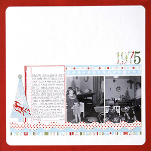 Scrapbook Old Holiday Photos