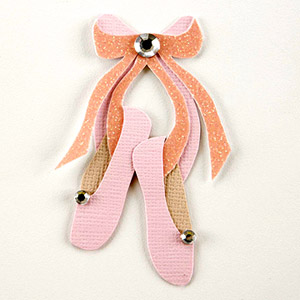 BALLET SLIPPERS PAPER-PIECING PATTERN