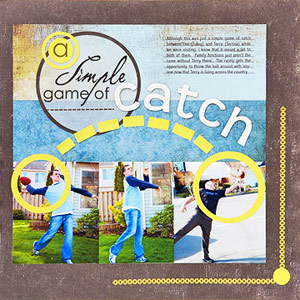 HIGHLIGHT THE ACTION IN PHOTOS WITH EMBELLISHMENTS