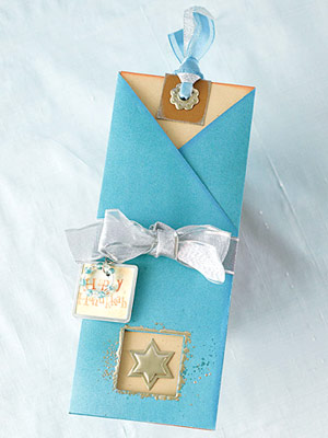 Create A Slide-Out Hanukkah Card