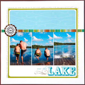 SCRAPBOOK OUTDOOR PHOTOS IN SEQUENCE