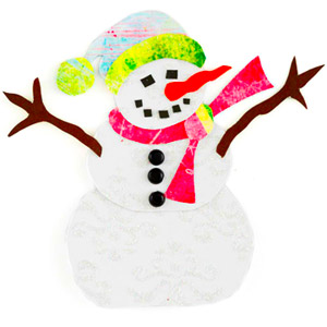 SNOWMAN PAPER-PIECING PATTERN