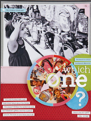 Embellish A Scrapbook Page With A Photo Collage