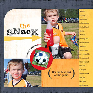 SCRAPBOOK ABOUT SOCCER-GAME DETAILS