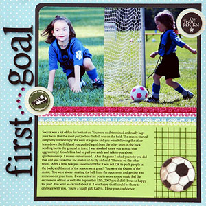 LEAVE ROOM FOR SCRAPBOOK PAGE JOURNALING