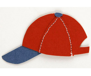 BASEBALL CAP PAPER-PIECING PATTERN