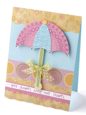 ADD PIECINGS TO A CARD