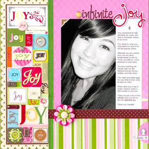 USE SEASONAL SUPPLIES ON EVERYDAY SCRAPBOOK PAGES