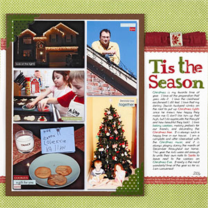 Scrapbook Photos Of Multiple Holiday Traditions