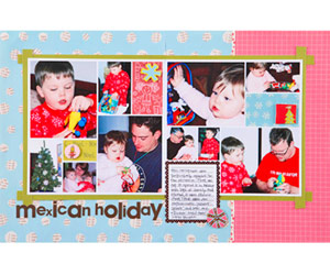 Fill Digital Template Blocks With Theme Patterned Papers
