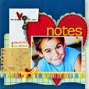 TURN TO HANDWRITTEN NOTES FOR SCRAPBOOK PAGE INSPIRATION