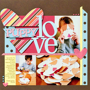 SCRAPBOOK PHOTOS OF VALENTINES DAY CRAFTS