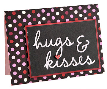 Hugs and Kisses close-up
