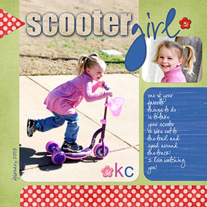 COMBINE PHOTOS AND TEXT FOR AN UNUSUAL SCRAPBOOK PAGE TITLE