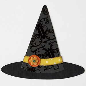 WITCH HAT PAPER-PIECING PATTERN