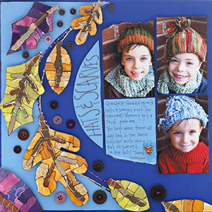 CREATE PAPER-PIECED MOSAICS TO CELEBRATE FALL?S FESTIVE COLORS