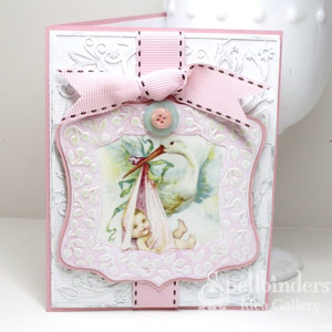 Baby Girl Card by: Kazan Clark
