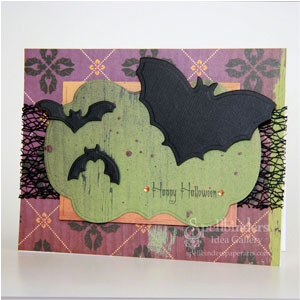 Halloween Bats Card