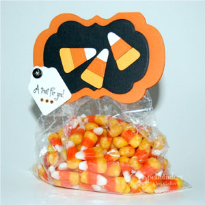 Candy Corn Bag Topper