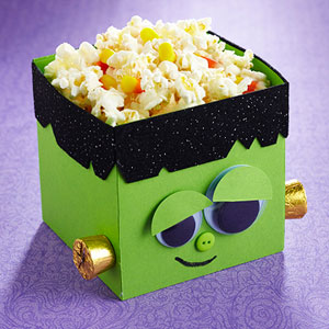 Make a Monster Halloween Treat Bucket