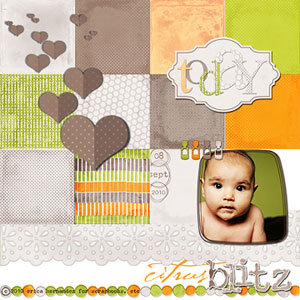 Citrus Blitz Scrapbooking Kit