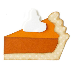 Pumpkin Pie Paper-Piecing Pattern