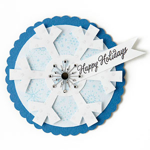 Design a Snowflake Gift Tag