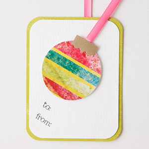 Design a Gift Tag with Punches