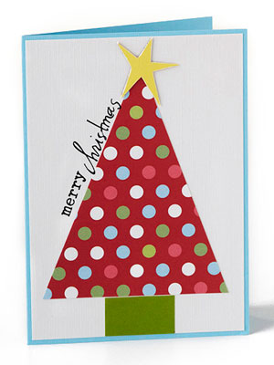 Piece an Easy Christmas Tree Accent