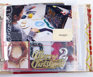 Number the Scrapbook Album Pages