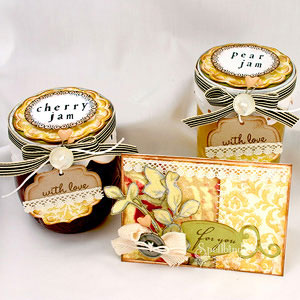 Jelly Jars and Card by: Julie Overby