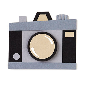 Camera Paper-Piecing Pattern