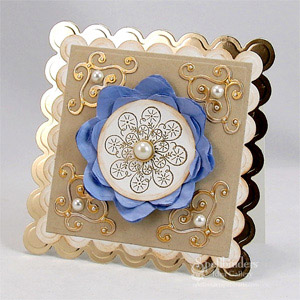 Snowflake Card by: Mona Pendleton