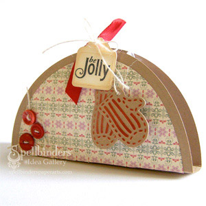 Be Jolly Treat Holder by: Latisha Yoast