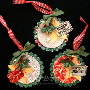 Christmas Ornaments by: Gina Hanson
