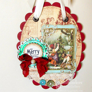Christmas Wall Hanging by: Mona Pendleton
