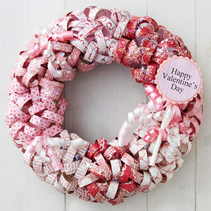 Valentine?s Day wreath