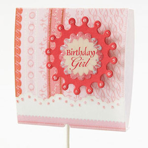 Birthday Girl Lollipop Cover