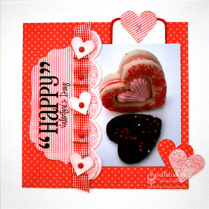 Happy Valentine?s Day Card by: Gina Hanson